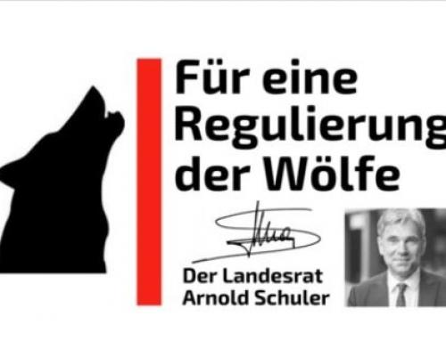 Wolfs Petition- Für eine Regulierung der Wölfe