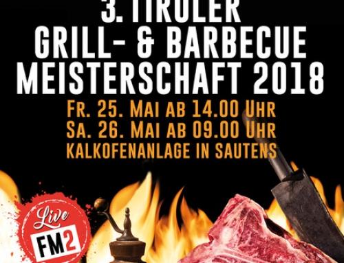 3. Tiroler Grill- und Barbeque Meisterschaft in Sautens