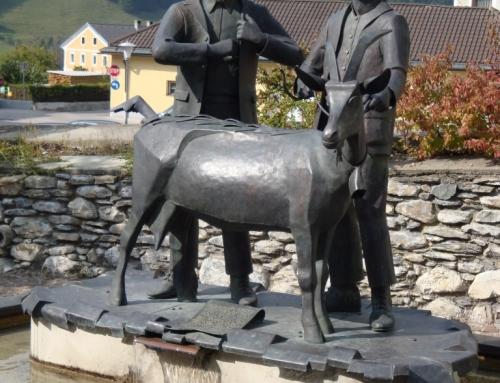 Bild 1 unseres Fotowettbewerbes: Dorfbrunnen in Matrei in Osttirol