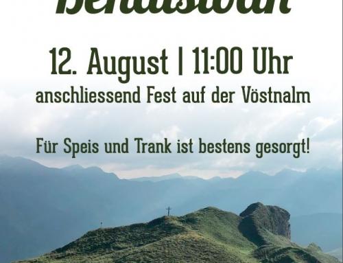 Gipfelmesse Bendlstein