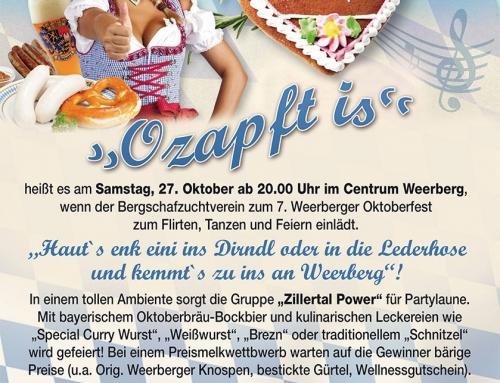 Oktoberfest Weerberg