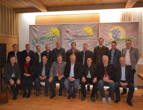 Neuer Vorstand beim Schafzuchtverband und bei der Genossenschaft