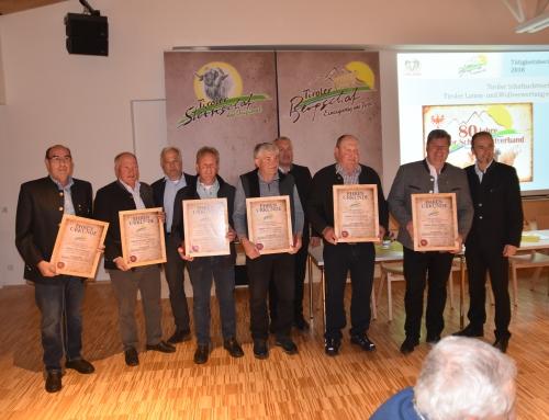 80. Generalversammlung des Tiroler Schafzuchtverbandes